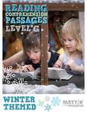 Reading Comprehension Passages Winter Themed: Guided Reading Level G