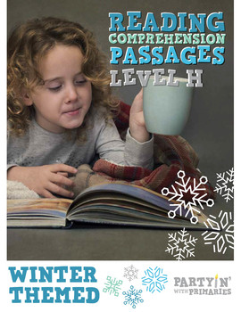 Reading Comprehension Passages Winter Themed: Guided Reading Level H