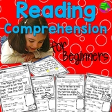 Reading Comprehension Passages and Questions for Kindergarten