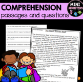 Second Grade Reading Comprehension Worksheets DISTANCE LEARNING