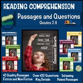 Reading Comprehension Passages and Questions Bundle 2nd th