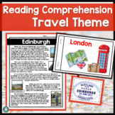 Reading Comprehension Passages and Questions Bundle - Travel Themed
