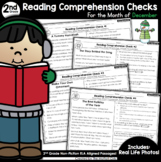 Reading Comprehension Passages and Questions: December (2nd Grade)