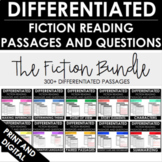 Reading Comprehension Passages and Questions - Differentiated - FICTION BUNDLE