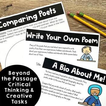 Poet Biographies | Close Reading Passages
