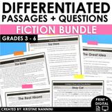 Reading Comprehension Passages and Questions Fiction BUNDL