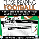 Football Reading Comprehension and Questions