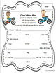 Reading Comprehension Passages and Questions Grade K - 1