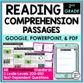 Reading Comprehension Passages/Questions Informational 2nd