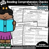 Reading Comprehension Passages and Questions: January (2nd Grade)