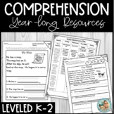 Reading Comprehension Passages and Questions Assessment - YEARLONG
