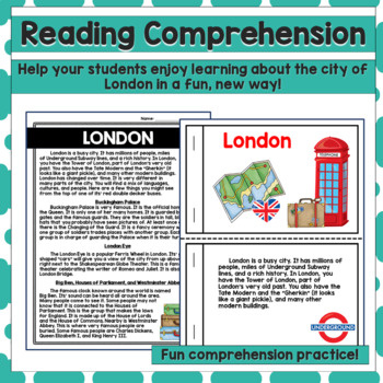 Reading Comprehension Passages and Questions - London