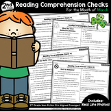 Reading Comprehension Passages and Questions: March (2nd Grade)