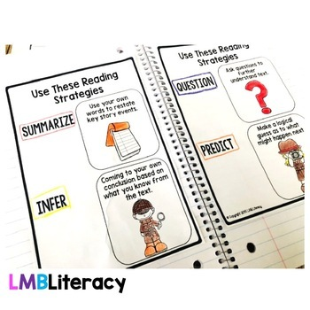 Reading Comprehension Passages and Questions, Reading Strategies Gr.4-6