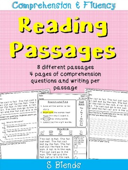 Reading Comprehension Passages and Questions: S Blends