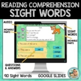 Reading Comprehension Passages and Questions SIGHT WORDS  