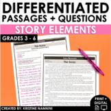 Reading Comprehension Passages - Story Elements - Plot - G
