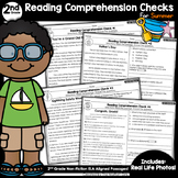 Reading Comprehension Passages and Questions: Summer (2nd Grade)