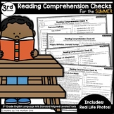 Reading Comprehension Passages and Questions Summer-3rd Grade