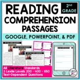 Reading Comprehension Passages and Questions Text Dependent Questions 2nd