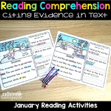 Reading Comprehension Passages and Questions for January -