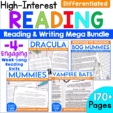 Reading Comprehension Passages and Questions for Middle Sc