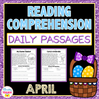Reading Comprehension Passages for April