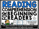 Reading Comprehension Passages for Beginning Readers