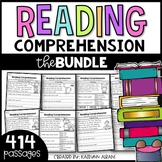 Reading Comprehension Passages for Early Readers - BIG BUN