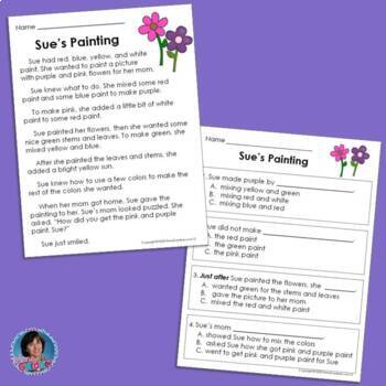 Reading Comprehension Passages for Guided Reading Levels G and H