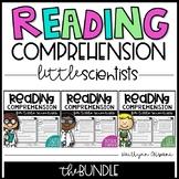 Science Reading Comprehension Passages for Little Scientists - GROWING BUNDLE