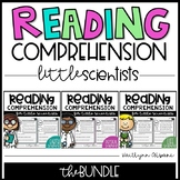 Science Reading Comprehension Passages for Little Scientists -  BUNDLE
