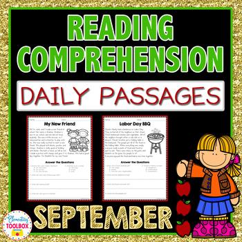 Reading Comprehension Passages for September