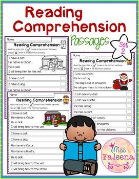 Reading Comprehension Passages (set 2)