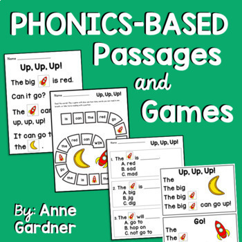 Guided Reading Level C: Kindergarten Comprehension Passages and Questions