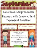 September 6th(Vol.1) - Common Core Close Read w/ Text Depe