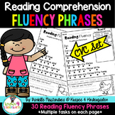Reading Comprehension Passsages- Fluency Phrases {CVC SET}