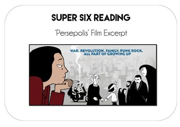 Reading Comprehension - Persepolis