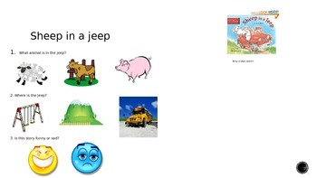 Reading Comprehension: Picture Supports