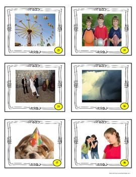 Close Reading Picture Task Cards