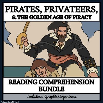 Reading Comprehension Bundle- Pirates, Privateers and the