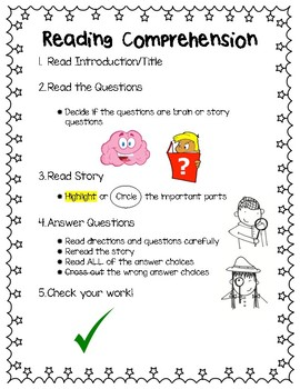 Reading Comprehension Poster