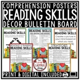 Reading Comprehension Posters & Story Elements Anchor Charts