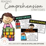 Reading Comprehension Posters {Black Strip}