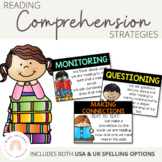 Reading Comprehension Posters {Black Strip}