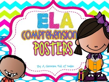 Reading Comprehension Posters Bright Edition