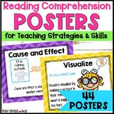 Reading Comprehension Strategies Posters | Bright Chevron