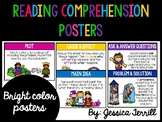 Reading Comprehension Posters: Bright Colors