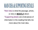 Reading Comprehension Posters- Elementary