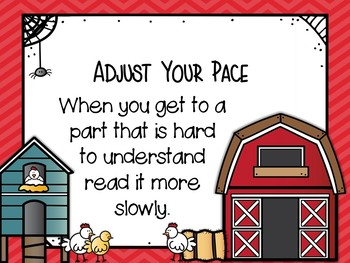 Reading Comprehension Posters-Farm Themed